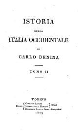 Istoria della Italia Occidentale, tomo II