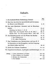 Handbuch zu den Apogryphen