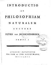 Introductio Ad Philosophiam Naturalem: 1