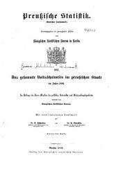 Preussische statistik: (Amtliches quellenwerk) ...