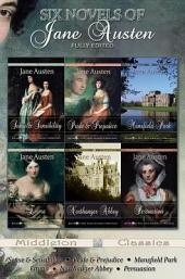 Six Novels of Jane Austen (Middleton Classics)