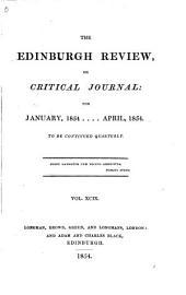 The Edinburgh Review: Or Critical Journal