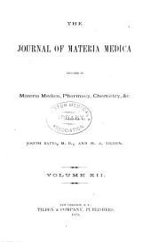 Journal of Materia Medica: Volume 12