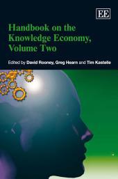 Handbook on the Knowledge Economy