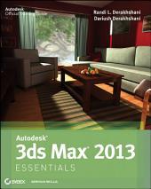 Autodesk 3ds Max 2013 Essentials