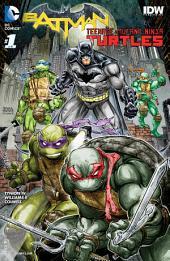 Batman/Teenage Mutant Ninja Turtles (2015-) #1