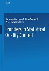 Frontiers in Statistical Quality Control