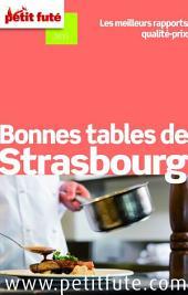 Bonnes tables de Strasbourg 2015 Petit Futé
