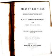 Signs of the Times: Letters to Ernst Moritz Arndt on the Dangers to Religious Liberty in the Present State of the World