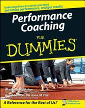 Performance Coaching For Dummies