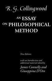 An Essay on Philosophical Method