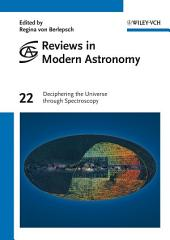 Reviews in Modern Astronomy, Deciphering the Universe through Spectroscopy