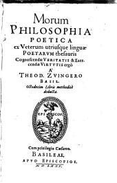 Morum Philosophia Poetica: 1