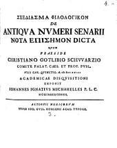 De antiqua numeri senarii nota episēmon dicta