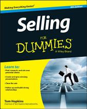Selling For Dummies: Edition 4