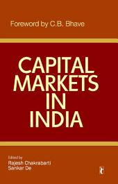 Capital Markets in India