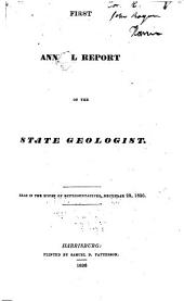 First[-sixth] Annual Report on the Geological Survey of Pennsylvania