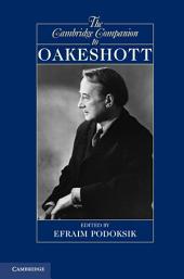 The Cambridge Companion to Oakeshott