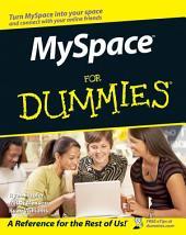 MySpace For Dummies