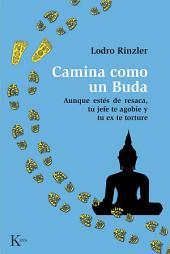 Camina como un Buda: Aunque estés de resaca, tu jefe de agobie y tu ex te torture