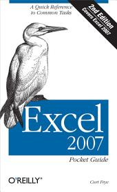 Excel 2007 Pocket Guide: Edition 2