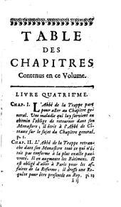 La vie de dom Armand Jean le Bouthillier de Rancé,: Abbé regulier et reformateur du monastere de la trappe, de l'etroite observance de cisteaux