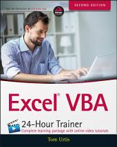 Excel VBA 24-Hour Trainer: Edition 2