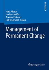 Management of Permanent Change