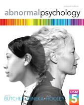 Abnormal Psychology: Edition 16