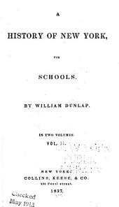 A History of New York: For Schools
