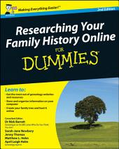 Researching Your Family History Online For Dummies: Edition 2