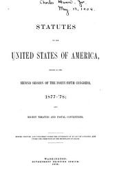 Statutes of the United States of America