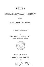 Bede's Ecclesiastical History of the English Nation