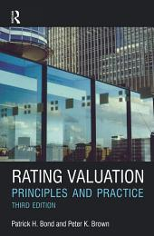 Rating Valuation: Principles and Practice, Edition 3