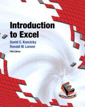 Introduction to Excel: Edition 5