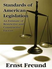 Standards of American Legislation