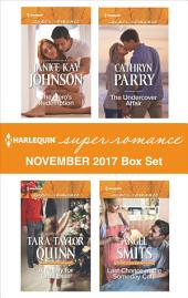 Harlequin Superromance November 2017 Box Set: The Hero's Redemption\A Family for Christmas\The Undercover Affair\Last Chance at the Someday Café