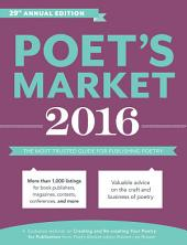 Poet's Market 2016: The Most Trusted Guide for Publishing Poetry