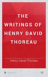 The Writings of Henry David Thoreau: Volume 8