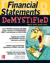 Financial Statements Demystified: A Self-Teaching Guide: A Self-teaching Guide