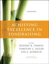 Achieving Excellence in Fundraising: Edition 3