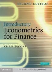Introductory Econometrics for Finance: Edition 2