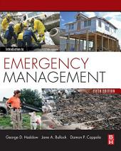 Introduction to Emergency Management: Edition 5