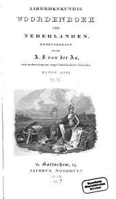 Aardrijkskundig Woordenboek der Nederlanden: T. V.