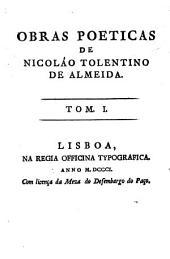 Obras poeticas de Nicoláo Toletino de Almeida