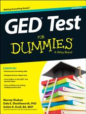 GED Test For Dummies: Edition 3
