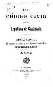 El Código civil de la República de Guatemala
