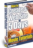 How to Create a Web Site in 5 Days