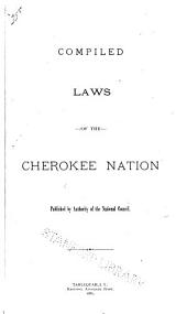 Compiled Laws of the Cherokee Nation