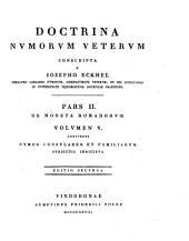 Numos Consulares Et Familiarum Subjectis Indicibus